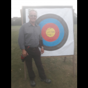 Peter's first triple gold at 50 yards