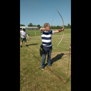 Chris and flatbow